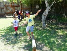Balance Beam At The Boma