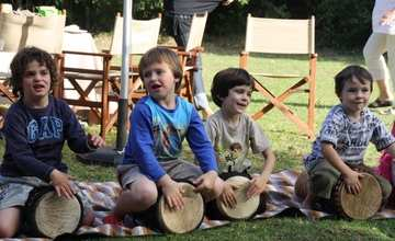 Drumming Party At The Boma